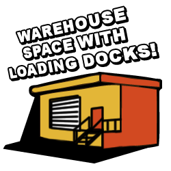 Warehouse Space with Loading Docks